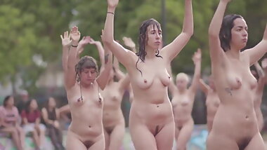Nude group of women from chile