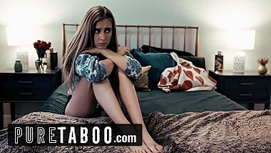 PURE TABOO Stepmom Offers Hesitant Teen to Lesbian Boss