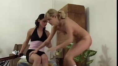 Annoying blonde schoolgirl punished and humiliated CFNF